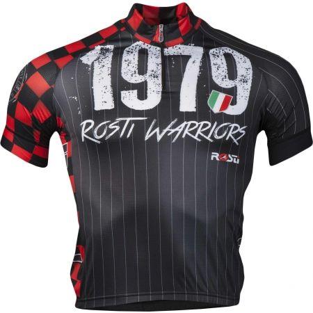 Koszulka rowerowa męska - Rosti WARRIOR KR ZIP - 1