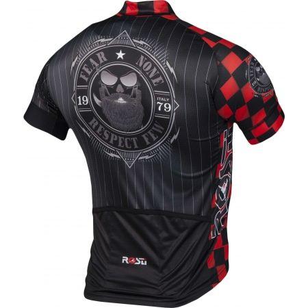 Koszulka rowerowa męska - Rosti WARRIOR KR ZIP - 3