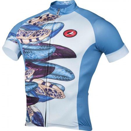 Dámsky cyklistický dres - Rosti PAVONE DL ZIP - 2