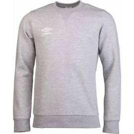 Umbro FLEECE SMALL LOGO SWEAT - Pánska mikina