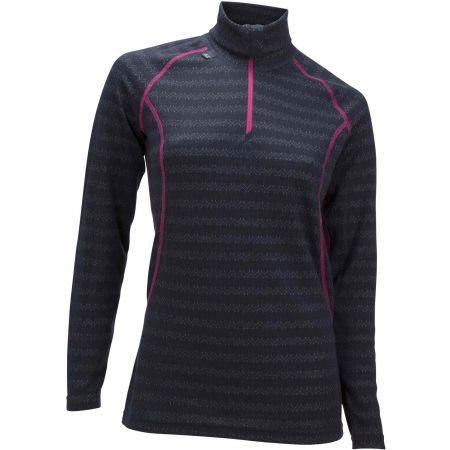 Ulvang TURTLE NECK W/ZIP WS - Wełniana koszulka termoaktywna damska