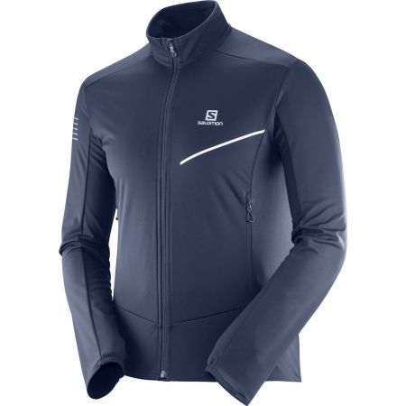 Salomon RS SOFTSHELL JKT M - Pánska softshellová bunda