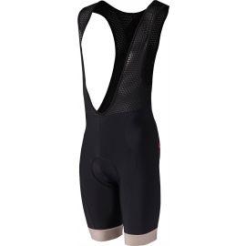 Rosti VELOCIPEDE - Мъжки къси панталони за колоездене с презрамка през врата