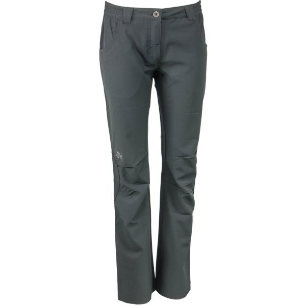 ALPINE PRO RASUA sivá 40 - Dámske softshellové nohavice
