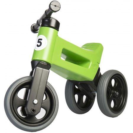 Bicicletă fără pedale copii - FUNNY WHEELS ODRAZEDLO 18M + SPORT 2V1 - 1