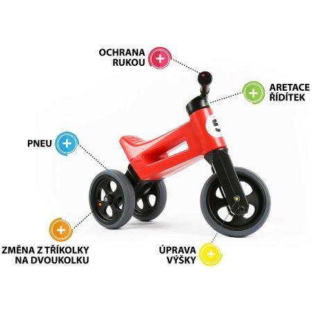 Bicicletă fără pedale copii - FUNNY WHEELS ODRAZEDLO 18M + SPORT 2V1 - 2