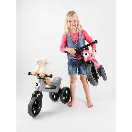 Bicicletă fără pedale copii - FUNNY WHEELS ODRAZEDLO 18M + SPORT 2V1 - 8