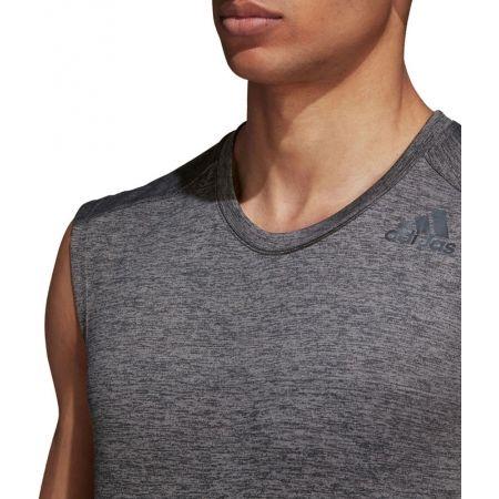 Herren Trainingsshirt - adidas GRAD MEL SL - 6