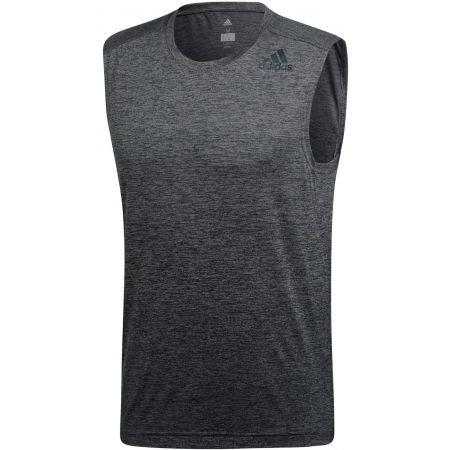 Herren Trainingsshirt - adidas GRAD MEL SL - 1