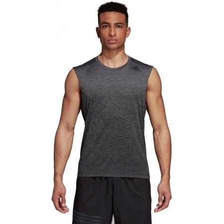 Herren Trainingsshirt - adidas GRAD MEL SL - 2