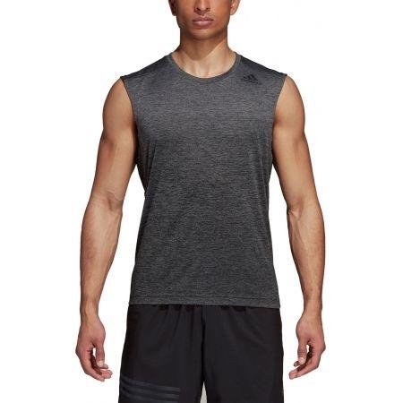 Herren Trainingsshirt - adidas GRAD MEL SL - 5