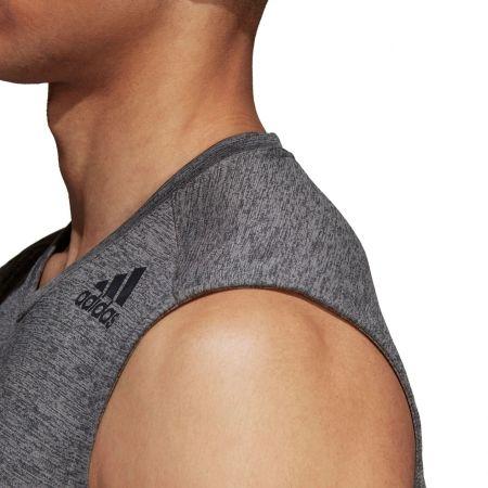 Herren Trainingsshirt - adidas GRAD MEL SL - 7