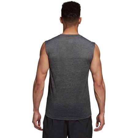 Herren Trainingsshirt - adidas GRAD MEL SL - 4