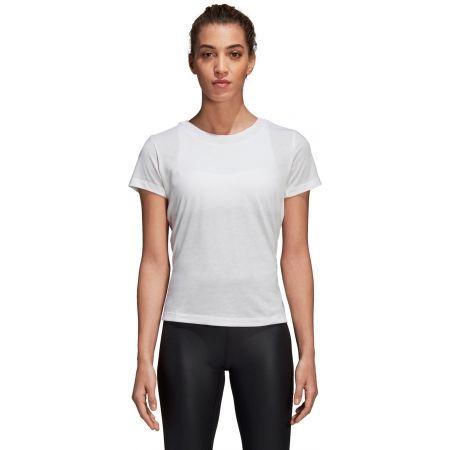 Damen T-Shirt - adidas LOW BACK TEE - 2