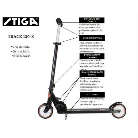 Sportovní koloběžka - Stiga TRACK 120-S - 5