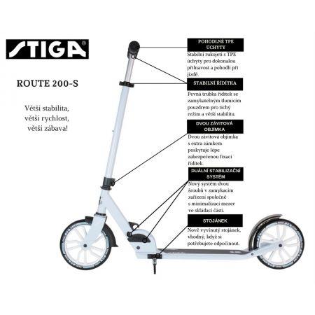 Сглобяваща се  тротинетка - Stiga ROUTE 200-S - 5