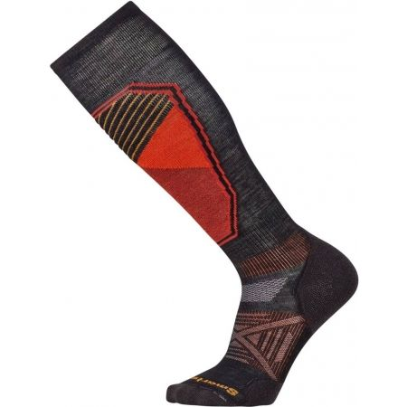 Men's ski knee high socks - Smartwool PHD SKI LIGHT PATTERN - 1