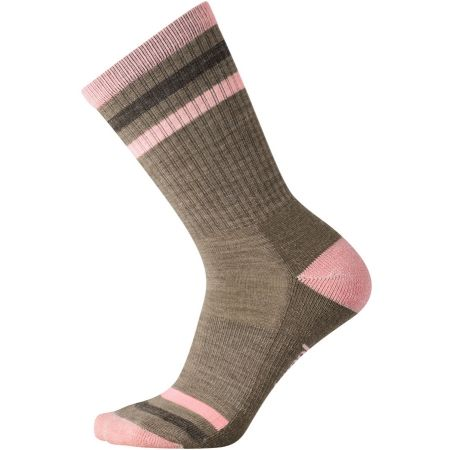 Women's hiking socks - Smartwool STRIPED HIKE LIGHT CREW W - 1