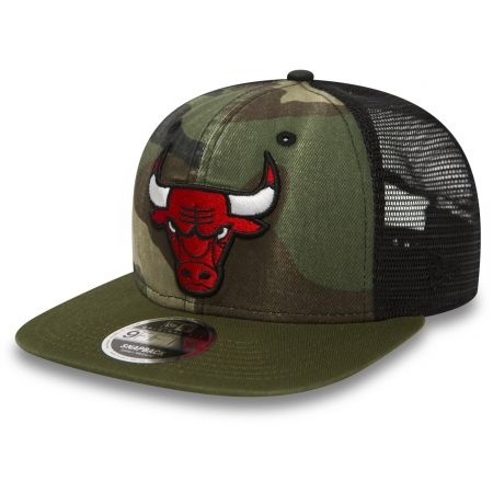New Era 9FIFTY NBA TRUCKER CHICAGO BULLS - Club baseball cap