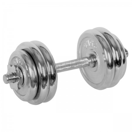 ONE-HAND WEIGHT 15 kg CHROME - One-hand adjustable weight - Keller ONE-HAND WEIGHT 15 kg CHROME