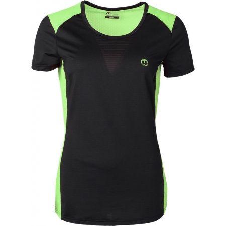 Mico W HALF SLVS R/NECK SHIRT RUN - Dámske bežecké tričko