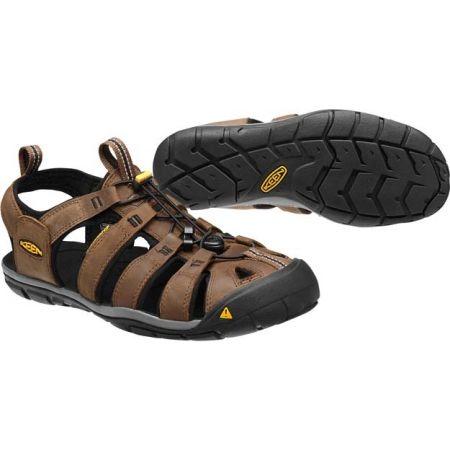 Pánske voľnočasové sandále - Keen CLEARWATER CNX LEATHER M - 6
