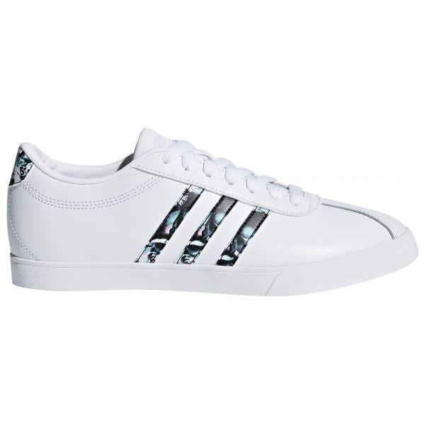 adidas COURTSET W bílá 6 - Dámská lifestylová obuv