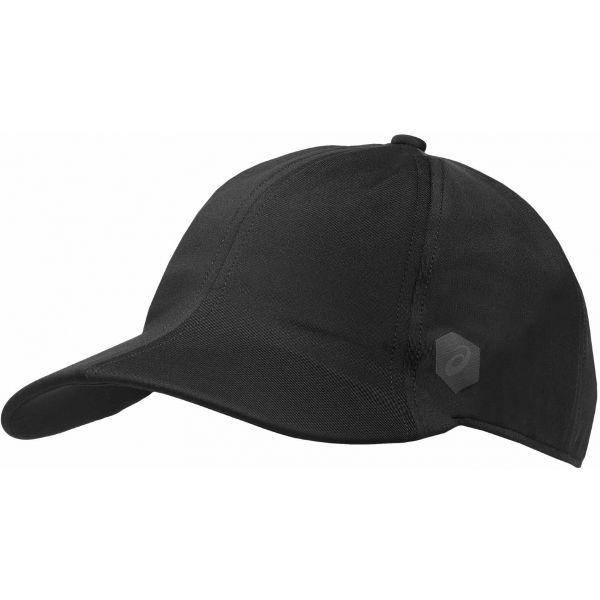 Asics PRO CAP czarny 56 - Czapka z daszkiem do biegania