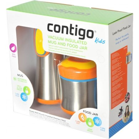 Thermos set for children - Contigo TSSCOUT SADA - 2