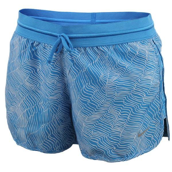 Nike DRY SHORT RUN FAST PR niebieski XS - Spodenki sportowe damskie