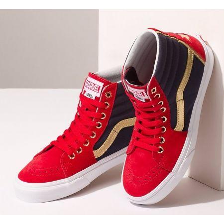 bdcb045343 Unisex ankle sneakers - Vans UA SK8-HI MARVEL CAPTAIN AMERICA - 4