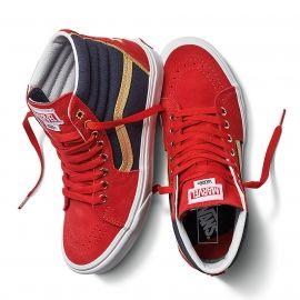 Vans UA SK8-HI MARVEL CAPTAIN AMERICA - Unisex ankle sneakers