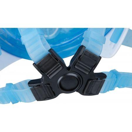 Šnorchlovací maska - Dive pro BELLA MASK LIGHT BLUE - 5