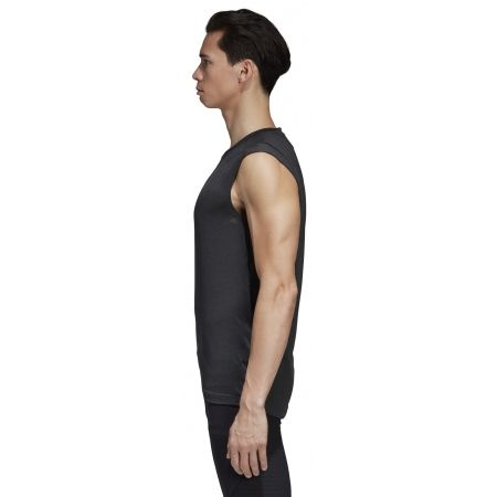 Tricou fără mâneci bărbați - adidas CLIMAC SL - 3