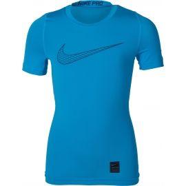 Nike PRO TOP SS COMP - Chlapecké triko
