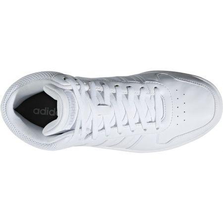 Дамски спортни обувки за свободното време - adidas HOOPS 2.0 MID - 2