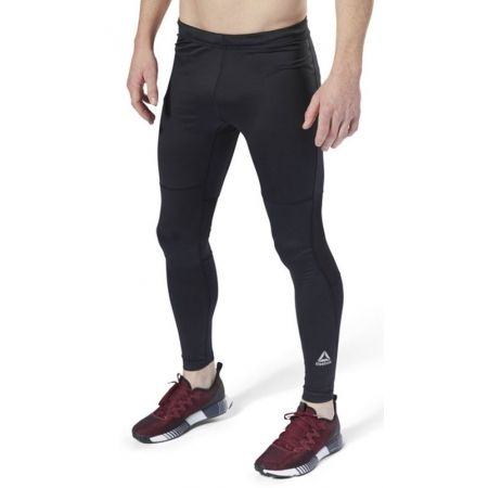 Pantaloni alergare bărbați - Reebok RUN TIGHT - 3
