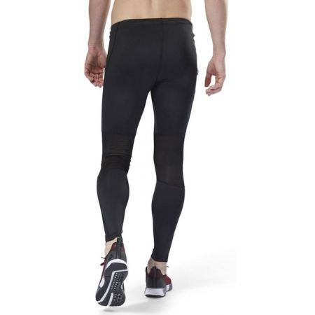Pantaloni alergare bărbați - Reebok RUN TIGHT - 5