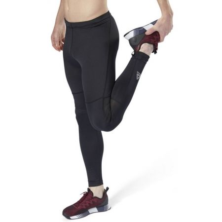 Pantaloni alergare bărbați - Reebok RUN TIGHT - 4