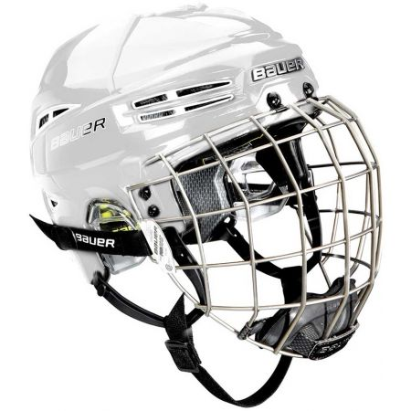 Kids' helmet with a facemask - Bauer RE-AKT 100 YTH COMBO