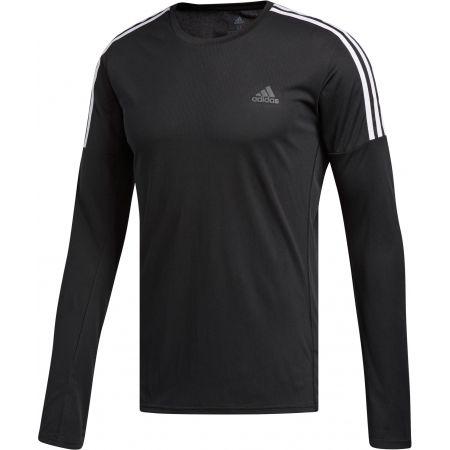 Pánske tričko - adidas RUN 3S LS M - 1