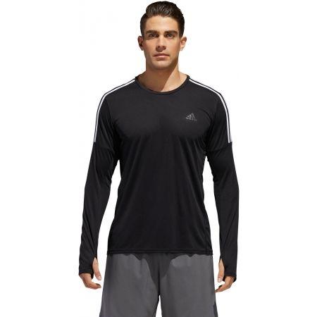 Pánske tričko - adidas RUN 3S LS M - 3