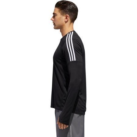Pánske tričko - adidas RUN 3S LS M - 4