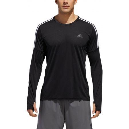 Pánske tričko - adidas RUN 3S LS M - 6
