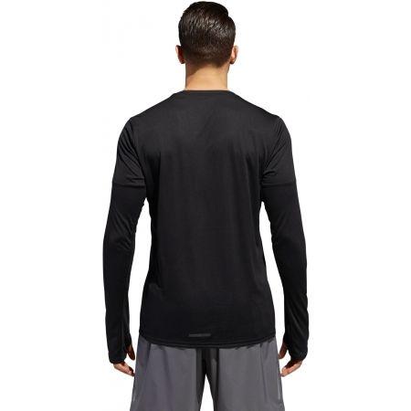 Pánske tričko - adidas RUN 3S LS M - 5