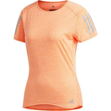 Dámské běžecké triko - adidas RESPONSE TEE W - 1