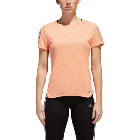 Dámské běžecké triko - adidas RESPONSE TEE W - 5