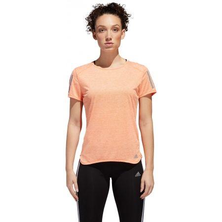 Tricou alergare damă - adidas RESPONSE TEE W - 2
