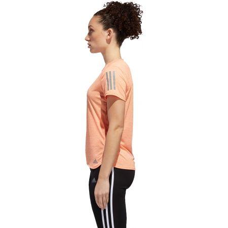 Tricou alergare damă - adidas RESPONSE TEE W - 3