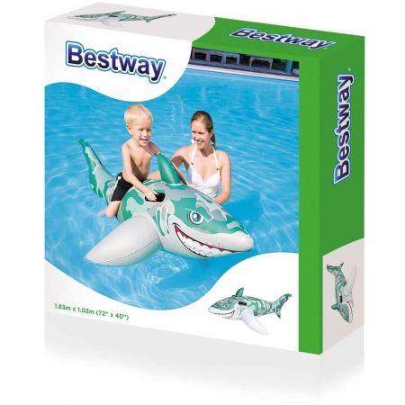 Nafukovacia hračka - Bestway ARMY SHARK - 2
